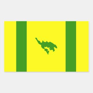 Culebra Flag Rectangular Sticker