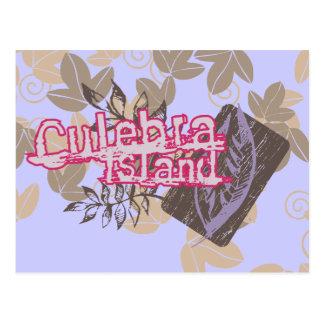 Culebra Island Graphic Tshirts and Gifts Postcards