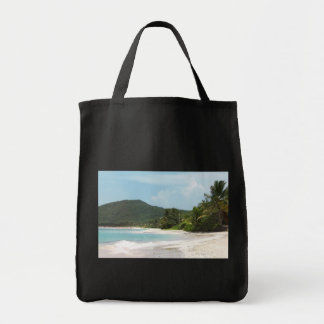 Culebra's Flamenco Beach Puerto Rico Tote Bags