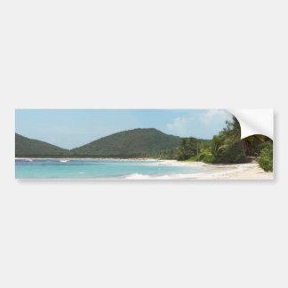 Culebra's Flamenco Beach Puerto Rico Bumper Sticker