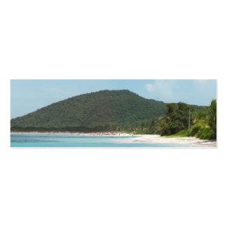 Culebra's Flamenco Beach Puerto Rico Business Card Template