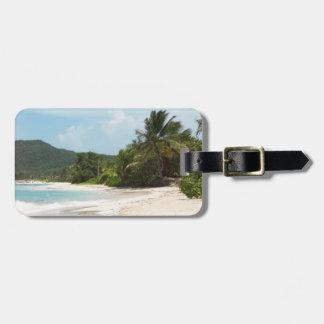Culebra's Flamenco Beach Puerto Rico Bag Tag