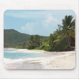 Culebra's Flamenco Beach Puerto Rico Mouse Pad