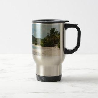 Culebra's Flamenco Beach Puerto Rico Coffee Mug