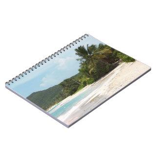 Culebra's Flamenco Beach Puerto Rico Spiral Note Books