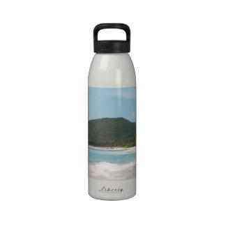 Culebra's Flamenco Beach Puerto Rico Drinking Bottles