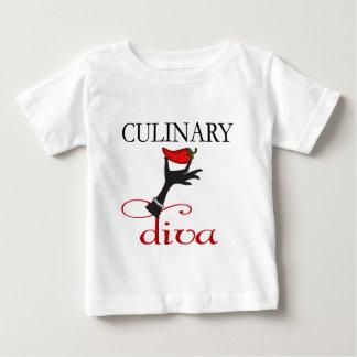 Culinary Diva Baby T-Shirt