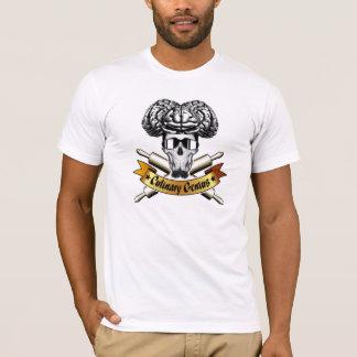 Culinary Genius: Baker Skull T-Shirt
