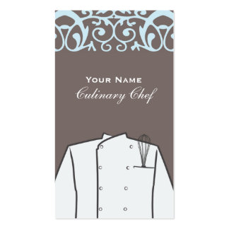 Culinary Personal Chef Catering Company Pack Of Standard Business Cards