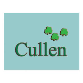Cullen Family Postcard