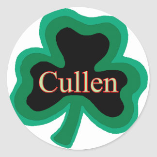 Cullen Family Round Sticker