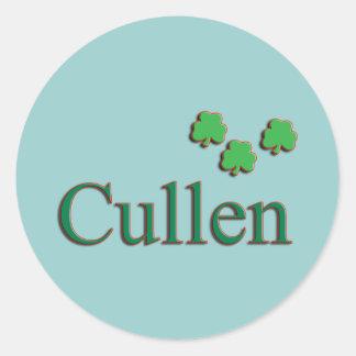 Cullen Family Round Sticker