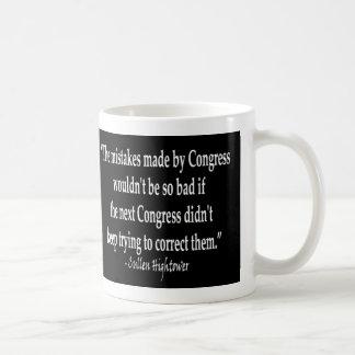 Cullen Hightower - Congressional Mistakes Basic White Mug