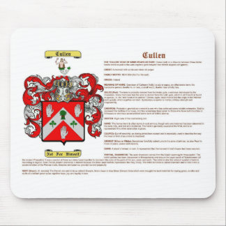 Cullen (irish(meaning)) mouse mat