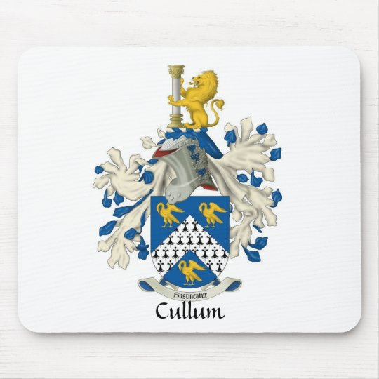 Cullum Family Crest Mouse Pad