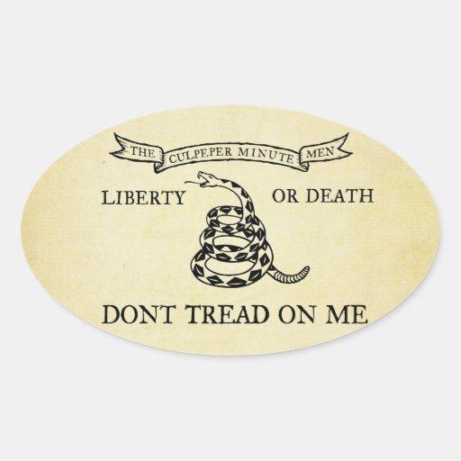 Culpeper Flag Stickers