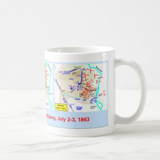 Culp's Hill map cup