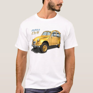 Cult Cars - Citroen 2cv T-Shirt