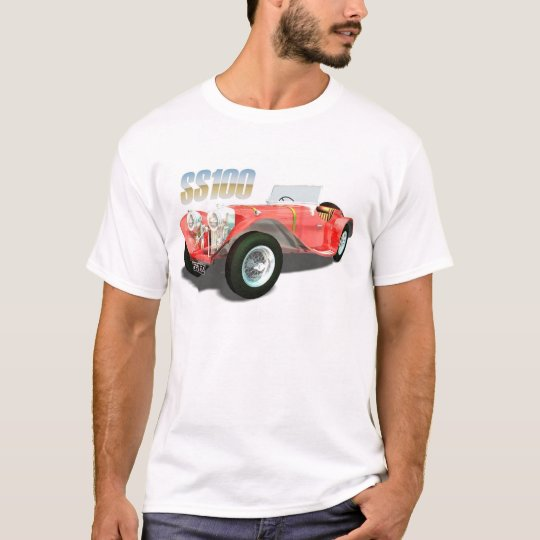 Cult Cars - Jaguar SS100 T-Shirt
