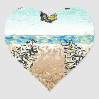 Cult Erie - Custom Print! Heart Stickers