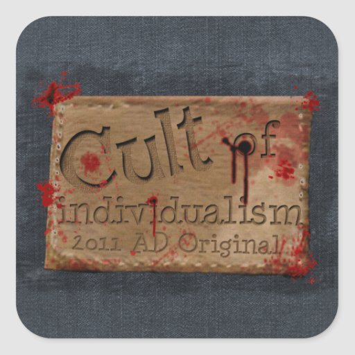 Cult of Individualism Stickers