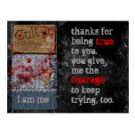 Cult of Individualism True Courage Postcard