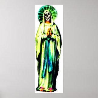Cult Of Santa Muerte Poster