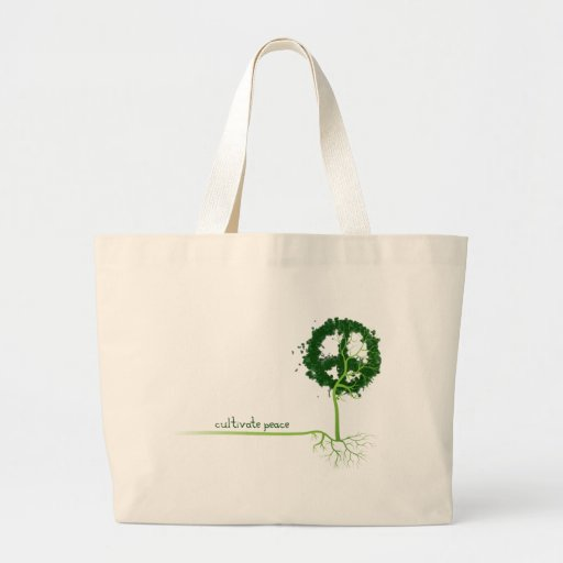CULTIVATE PEACE CANVAS BAGS
