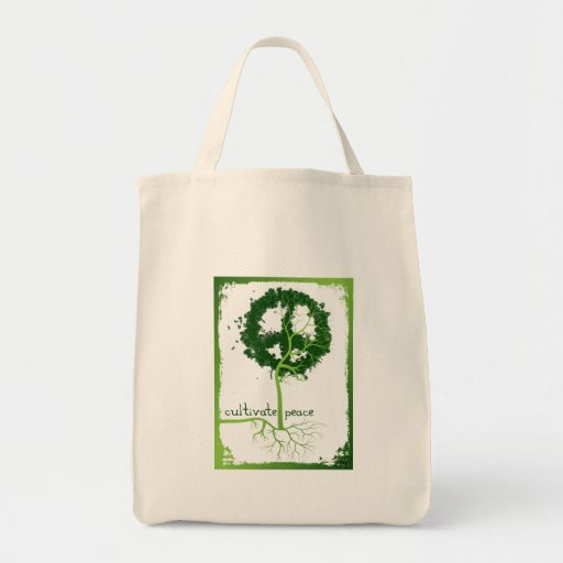 CULTIVATE PEACE - in frame Bags