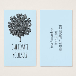 Cultivate Yourself Profile or Business Cards