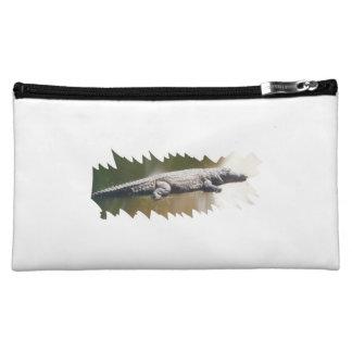 "Cultural bag ""crocodile "" makeup bag"