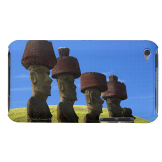 Cultural statues, Easter Island, Polynesia Barely There iPod Covers