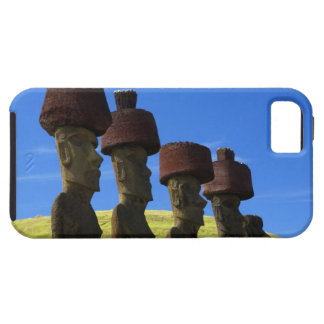 Cultural statues, Easter Island, Polynesia iPhone 5 Cover