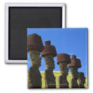 Cultural statues, Easter Island, Polynesia Magnet
