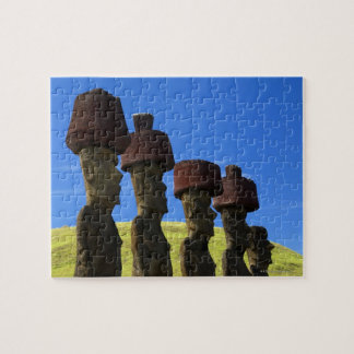 Cultural statues, Easter Island, Polynesia Puzzles