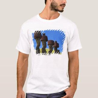 Cultural statues, Easter Island, Polynesia T-Shirt