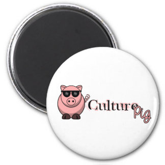 Culture Pig Official Refrigerator Magnet