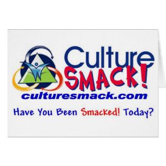 Culture Smack Zazzle 2 Greeting Card