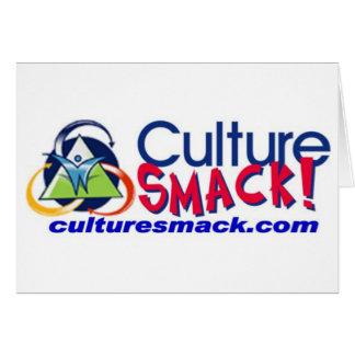 Culture Smack! Zazzle Greeting Card