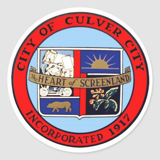 Culver City Official Seal Sticker