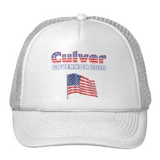 Culver Patriotic American Flag 2010 Elections Trucker Hats