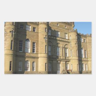 Culzean Castle Rectangular Sticker