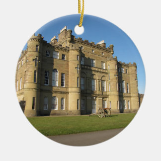 Culzean Castle Round Ceramic Decoration
