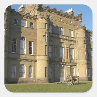 Culzean Castle Square Sticker