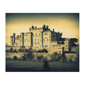 Culzean Castle - Wood Canvas