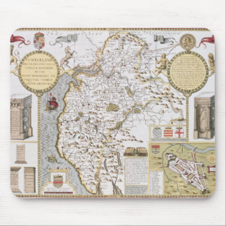 Cumberland and the Ancient City of Carlile Mouse Mat