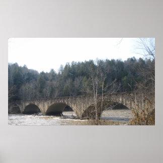 Cumberland Bridge Poster