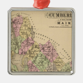 Cumberland County, Maine Christmas Ornament