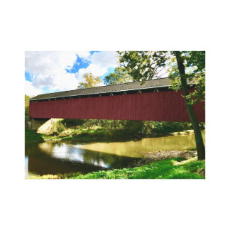 Cumberland Covered Bridge Canvas Print