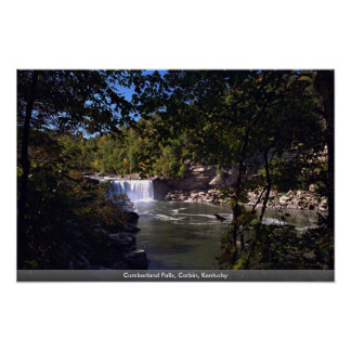 Cumberland Falls, Corbin, Kentucky Poster
